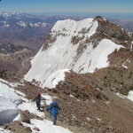 Aconcagua Summit Last Steps